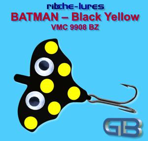 Cicaden-Batman-Black-Yellow-Kunstkoeder-RIBCHE-LURES-VMC-9908-BZ-4g-20g