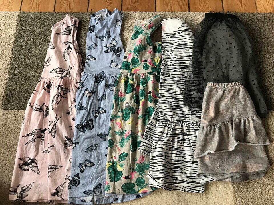 Blandet tøj, Bluse bukser kjole, Blandet