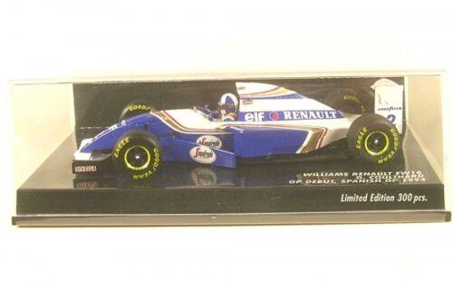 Spanish GP Formula 1 1994 Williams Renault FW16 No.2  GP Debut David ...