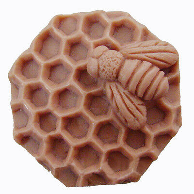 Bee Mold Silicone Soap Molds DIY Craft Handmade Mould Candle Resin Mould