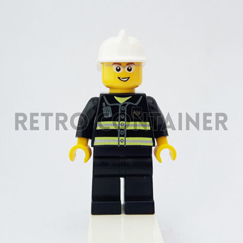 Fireman Pompiere Omino Minifig Set 7208 1x cty0056 LEGO Minifigures