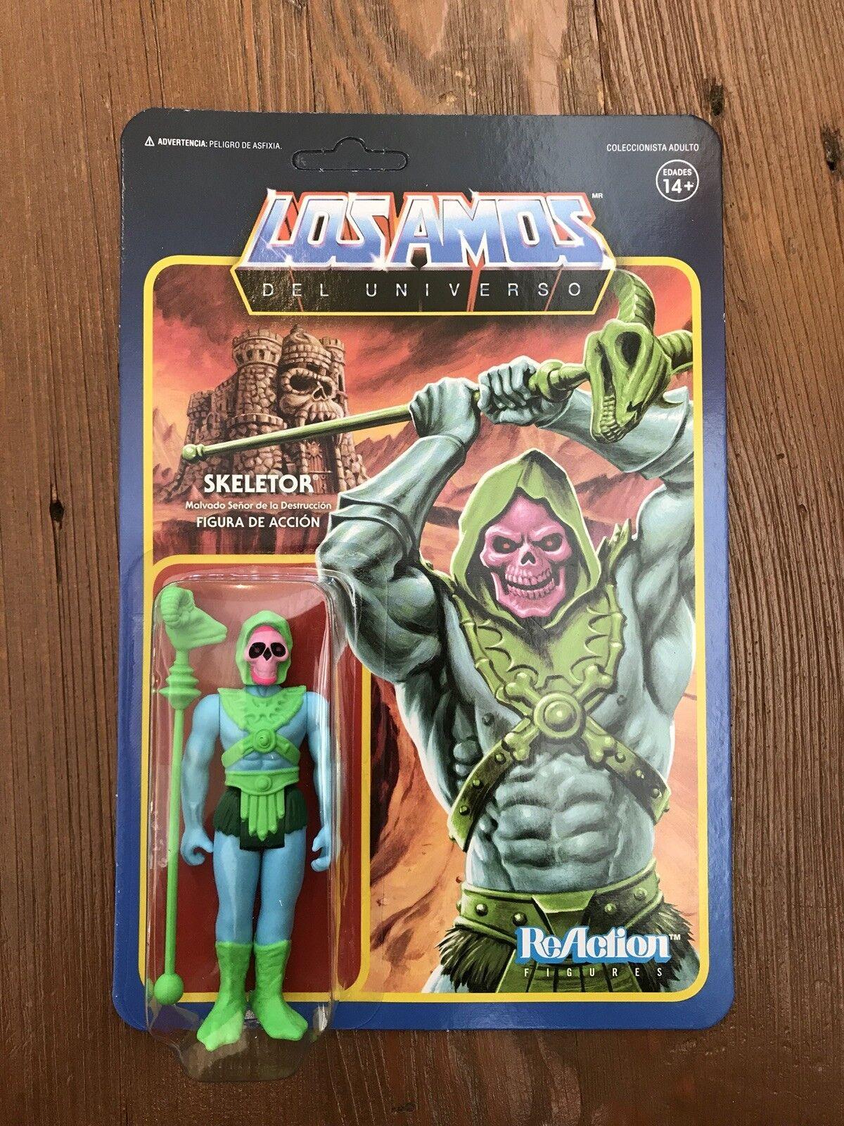 Skeletor Los Amos Unboxing Super7 Exclusive Figure