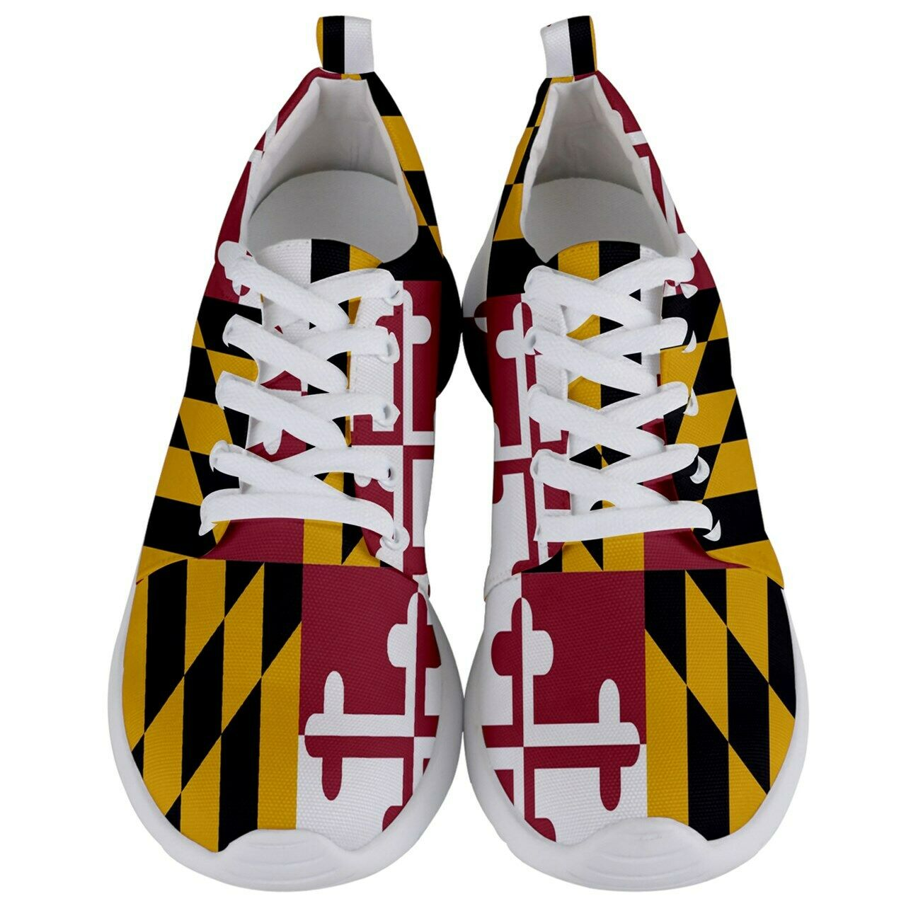 New Maryland State Flag Men's Lightweight Sports Athletic shoes Free Shipping