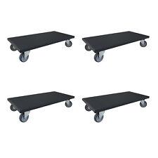 8 Stück Transportroller 300x600 mm Möbelroller Rollbrett Möbelhund Roller A1