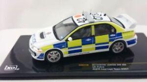 IXO-MOC110-MITSUBISHI-LANCER-EVO-VIII-model-car-UK-POLICE-ANPR-2007-1-43rd