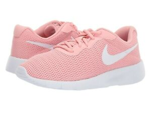 2ee33fe7eb Image is loading Nike-TANJUN-GS-Grade-School-Girls-Bleached-Coral-