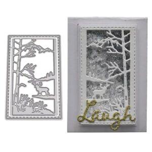 Deer-Tree-Metal-Cutting-Dies-Stencil-DIY-Scrapbooking-Paper-Card-Embossing-Craft