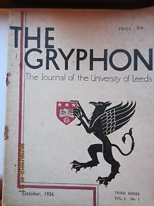 LEEDS-UNIVERSITY-JOURNAL-THE-GRYPHON-VINTAGE-ISSUES