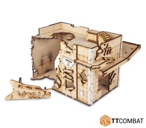 Ttcombat-ville Scenics-DCS-120 ruiné Drive Thru