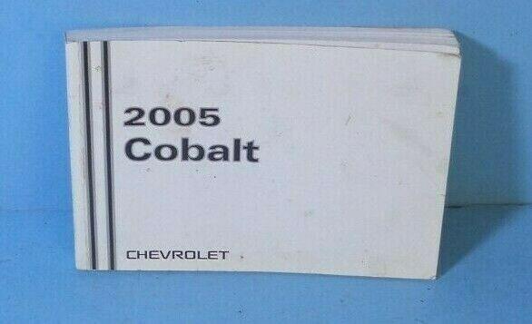 Chevrolet Cobalt 05 Manual Guide