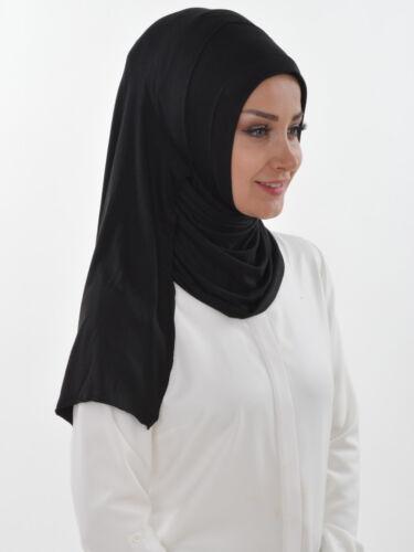 Bs-16 velo finito praticamente Hijab türban Esarp Sal tesettür Khimar