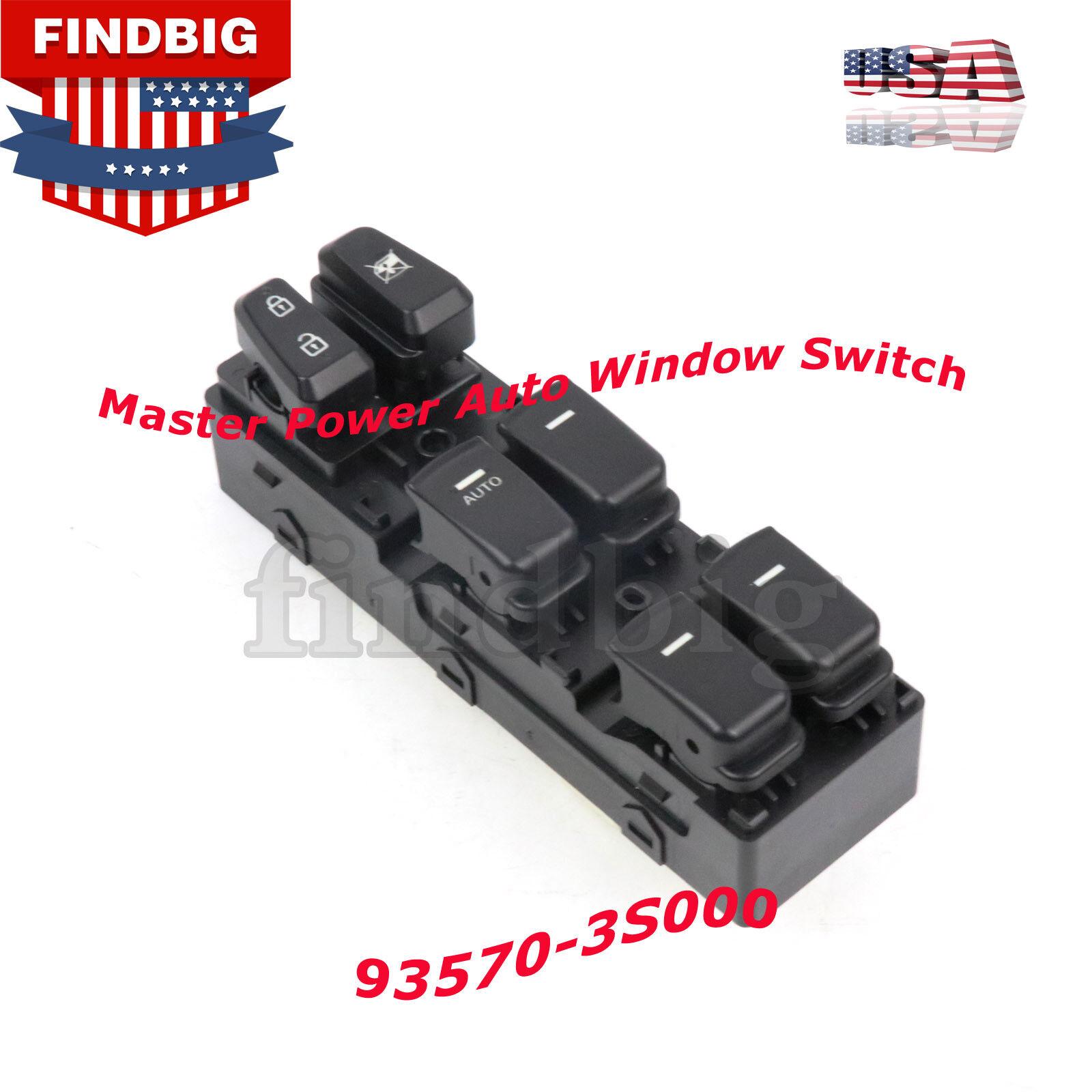 Master Power Window Control Switch for 2011-2015 Hyundai Sonata NEW
