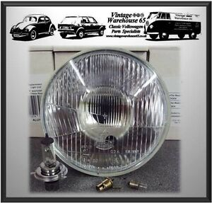 Ride-On-Lawnmower-5-amp-3-4-034-Sealed-Beam-Replacement-Halogen-Headlight-With-Bulbs