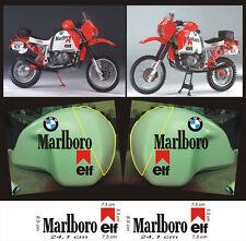 adesivi Marlboro serbatoio BMW Paris Dakar  - adesivi/adhesives/stickers/decal