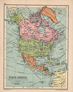 image is loading 1934 map north america mexico united states dominion