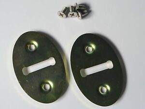 CLASSIC-AUSTIN-ROVER-MINI-DOOR-JAM-STRIKER-PLATES-ONE-PAIR-AS-PER-OE-FITTED