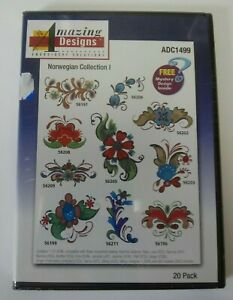 NEW-Amazing-Designs-ADC1499-Norwegian-Collection-I-CD-Rom