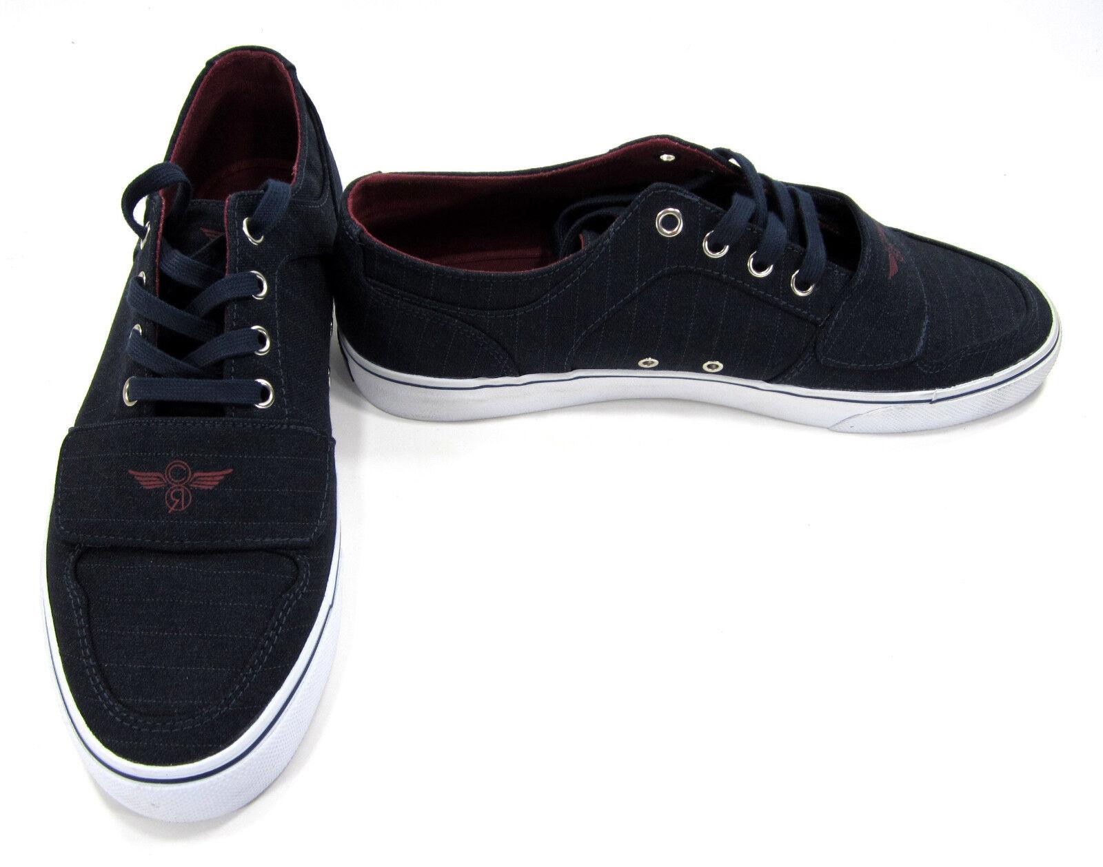 Creative Recreation shoes Cesario Lo XVI Pinstripe Navy bluee Sneakers Size 10.5