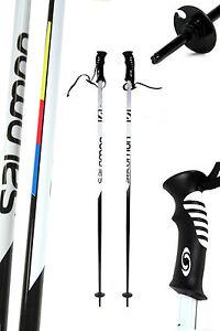 Paar-Salomon-Ski-Alpin-Skistoecke-115-120-125-130-135-cm-Alu-Schlaufe