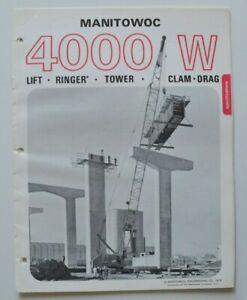 MANITOWOC-4000W-Lift-Crane-1972-dealer-brochure-catalog-English-USA