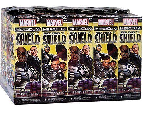 HeroClix Nick Fury Agent of SHIELD Booster Brick