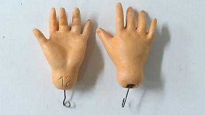 """Mains standard pour  poupées anciennes/"""" STA 1/"""" Antique doll hands Standard"""