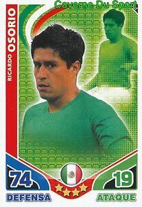 187 RICARDO OSORIO MEXICO TEAM CARD ESTRELLAS MONDIALES 2010 TOPPS iX23a78q-09095916-170195525