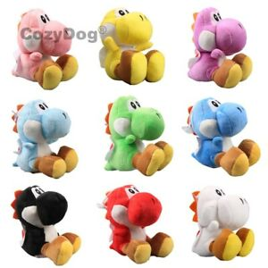 Super-Mario-Bros-9-Color-Yoshi-Dragon-Plush-Stuffed-Animal-Doll-6-inch-Tall