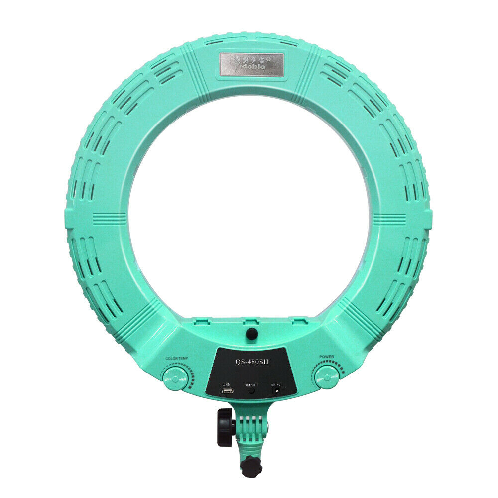 Yidoblo QS-480SII 18'' 96W Dimmable LED Ring Light Photography Photo Studio Lamp