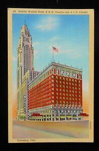 OHIO - COLUMBUS, DESHLER WALLICK HOTEL, R.K.O. THEATRE & A