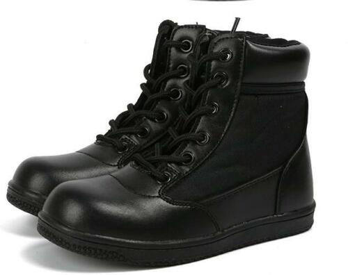 Child Boys Girls Kids Military Outdoor Shoes Army SWAT Tactical Combat Boots Goo