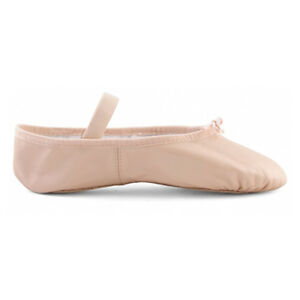 a3dcacb8f53 Image is loading Bloch-Arise-Girls-Leather-Full-Sole-Ballet-Shoes-