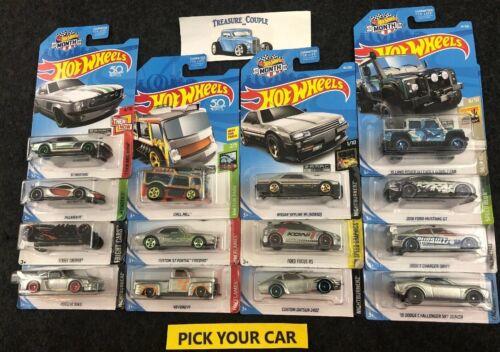 Hot Wheels Zamac - Pick Your Car - Good Cars Bad Cards - Skyline, 240z, Mustang