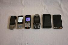 JOB OT X 6 MOBILE PHONES & IPODS NOKIA 6303CI,2610,6300 & IPODS 8GB, 32GB  M376