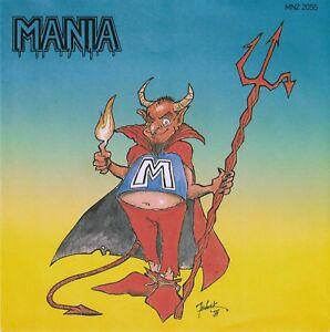 MANIA-Message-Deliverance-7-034-Single-1987-German-Teutonic-Metal-VERY-RARE