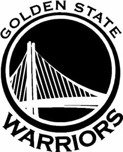Golden State Warriors Nba Team Logo Decal Stickers