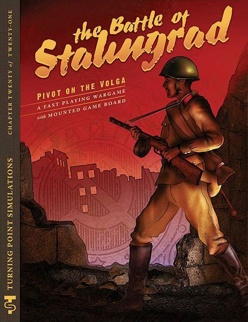 TURNING POINT SIMULATIONS - BOARD WARGAME - THE BATTLE OF STALINGRAD