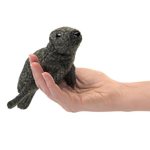 Folkmanis Mini Harbor Seal Finger Puppet