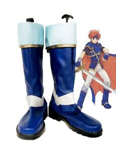 Fire Emblem: Sealed Sword Roy Cosplay Shoes Boots Custom Made