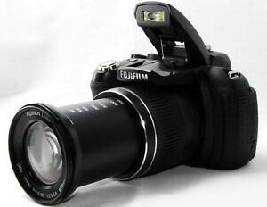 fujifilm finepix hs10 11 compact digital camera 30x zoom lens immaculate ebay. Black Bedroom Furniture Sets. Home Design Ideas
