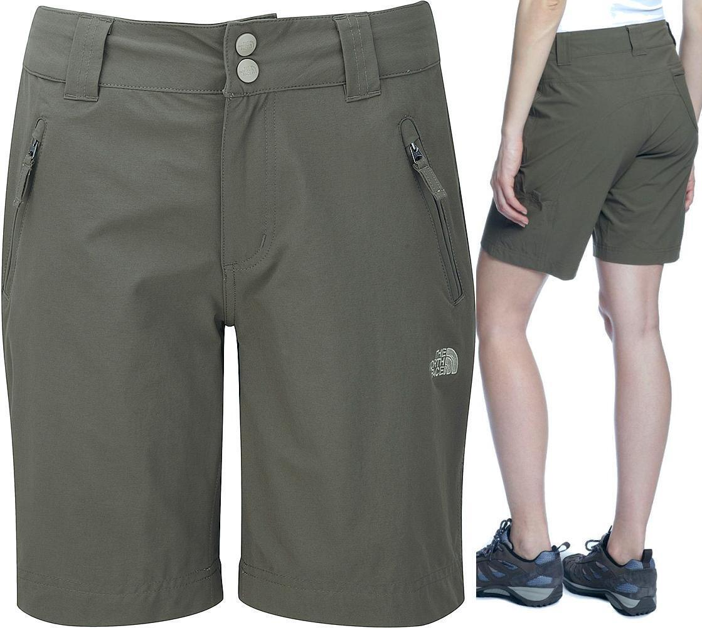 The North Face Women's Trekker UPF50 8  Hiking Shorts, 8   Asphalt Grey - NWT