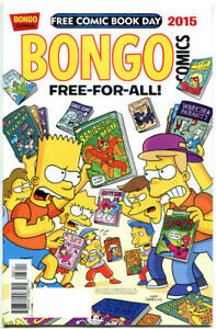 BONGO-COMICS-1-NM-FCBD-Bart-Simpson-Lisa-2015-more-Promo-items-in-store
