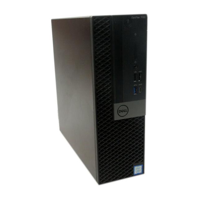 Dell OptiPlex 7060 SFF Intel i5-8500 @3.0GHz | 8GB RAM | 256GB SSD M.2 NVMe