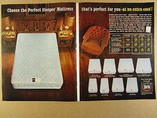 1963 Serta Perfect Sleeper Mattresses 8 Mattress Models photo vintage print Ad