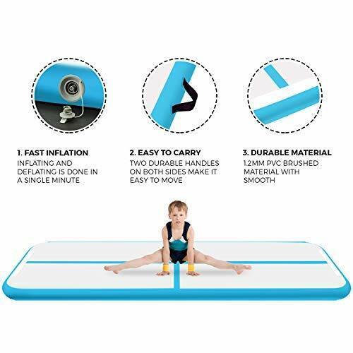 FBsport 3M 4M 5M 6M x20cm Air Track Gymnastikmatte Turnmatte TumblingMatte+Pumpe