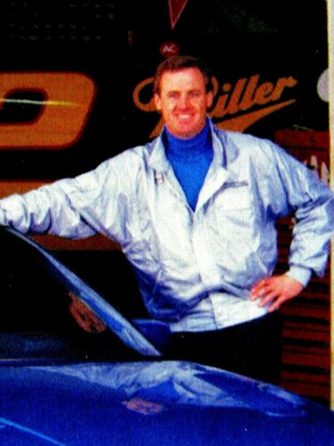 "Rusty Wallace 1991 Pontiac Grand Prix  Original Print Ad 8.5 x 11/"""
