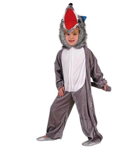 Wolf Overall 98-116 Carnaval Costume Loup costume mardi gras Halloween 1211132g13