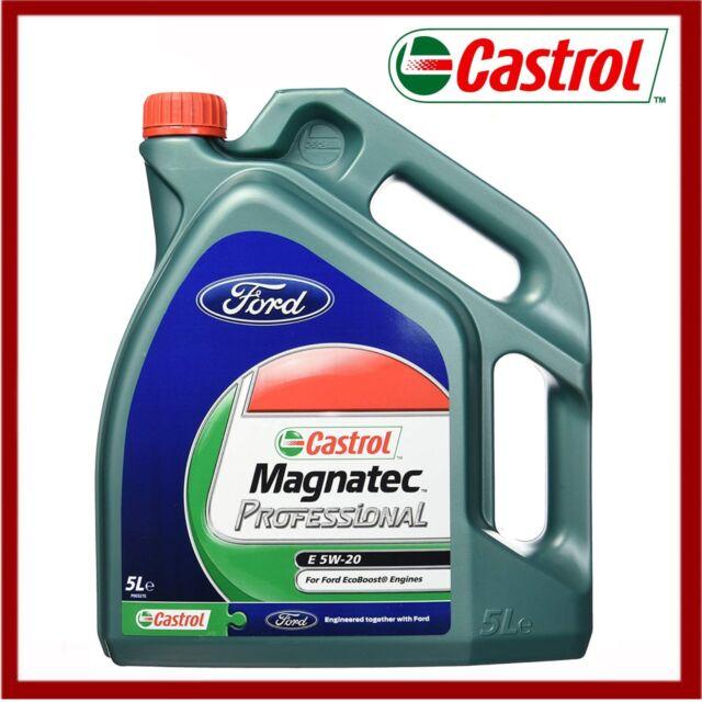 Genuine Ford Castrol Magnatec Professional 5W-20 Engine Oil 5 Litres  1239874 New