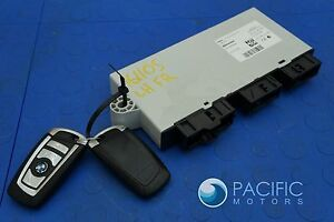 Comfort Access Locking Module Ecu  2 Key Fob 61359230941 Bmw 740i