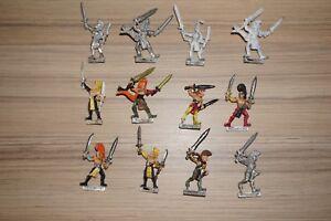 Combattants elfes en bois Warhammer Fantasy Wood X 12 - Metal Classic